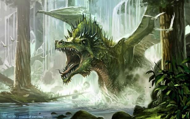 Greyhawk_Dragão-verde Um conto sobre Celadon