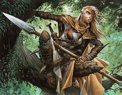 Greyhawk_Elfa-Dourado Povos de Flanaess