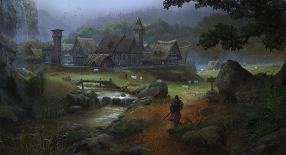Greyhawk_Vila-de-Titogrado Sandy Benelovoice - A História