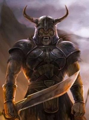 crivon-lurgran-misterioso-lider-orc A batalha da ravina