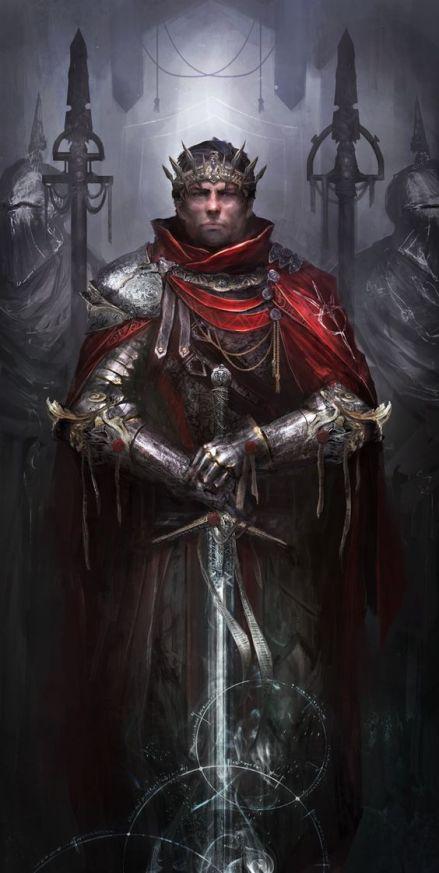 Arzien_Rei-Ferthgull A Coroa da Ruína, 2ª Parte: Burocracia em Marantel, sessão final