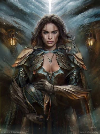 Arzien_Beatriz-Manto-Azul A Coroa da Ruína, 3ª Parte: As Filactérias de Arantos, sessão VI