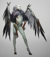 Greyhawk_Shiva-AHarpia Greyhawk_Shiva AHarpia