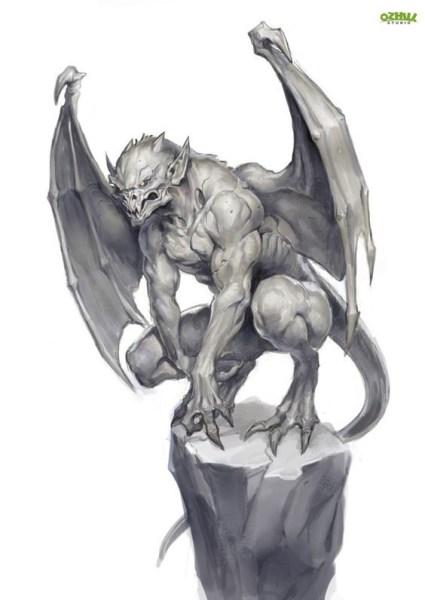 Greyhawk_gargula-425x600 Templo do Elemental Maligno - Chegada