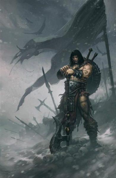 Pathfinder_Guerreiro-Arma-de-duas-mãos-391x600 O Guerreiro - Pathfinder