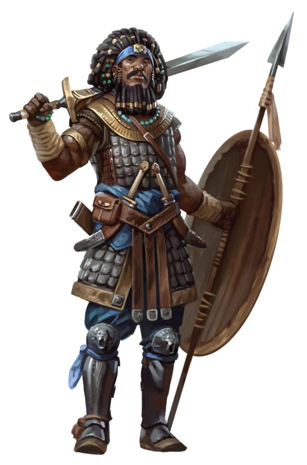 DD5-Guerreiro_1 Guerreiro - D&D 5ª Edição