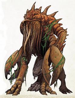 Greyhawk_Chuul O Templo Elemental da Terra – Parte III (Exploração)