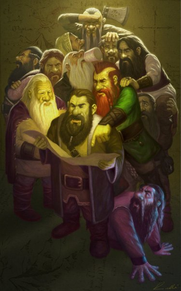 the_dwarfs_the_hobbit_by_frankvenice-d5oo81h-375x600 A proposta da xerife - convites