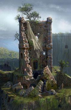 torre-ruina Aventura CaLuCe: a guia na neve