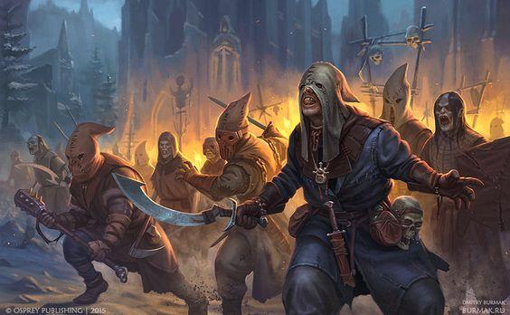 Greyhawk_Membros-do-olho-ancião Heróis do Templo - Chegada a Hommlet