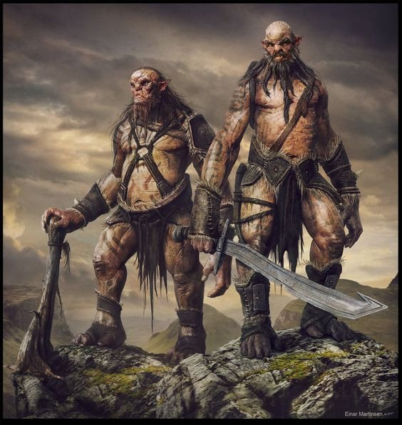 Greyhawk_Gigantes-do-1ª-encontro Rathnar | A Pedra de Kir - Parte I
