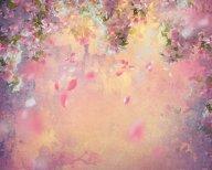 150*150cm Floral flores arte de la tela de vinilo fotografía telón de fondo Vintage gotas recién nacidos retrato fondos fotográficos D-7234