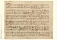 Robert Schumann Musica Manuscrito Poster