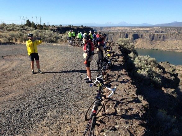 Day 5 was all about scenic viewpoints, a much needed break from the previous two days of intense climbing. Lake Billy Chinook in the distance.