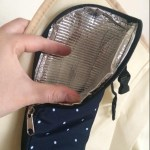 Diaper Bag Backpack Polka Dots Design with Changing Pad photo review