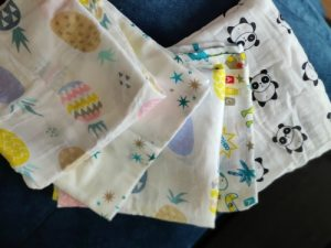 Baby Swaddle Blanket Soft Muslin Cotton Wrap – Flowers photo review