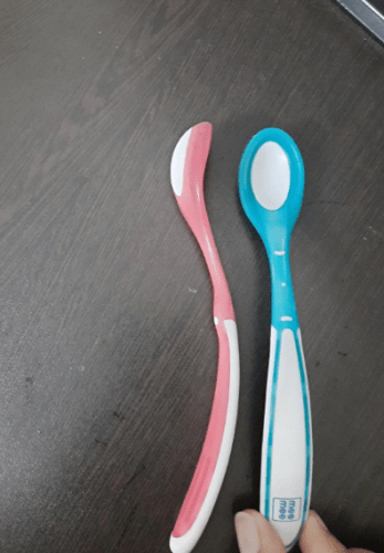 Baby Silicone Soft Spoon photo review