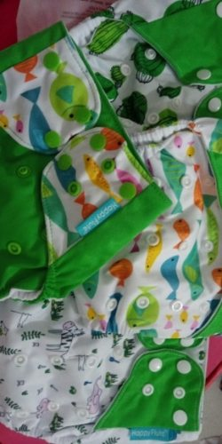 Baby Cloth Diaper 4 pack photo review