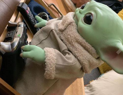 Baby Yoda Stuffed Plush Toy photo review