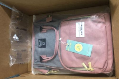 Expandable Baby Diaper Bag Backpack with USB Charging Port photo review