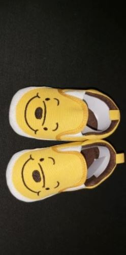 Baby Cartoon Character Soft Slip-On Shoes photo review
