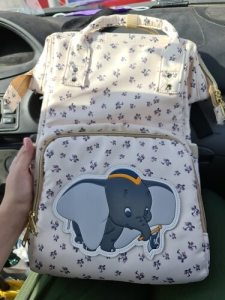 Dumbo Diaper Bag Backpack Elephant Disney Baby Bag photo review