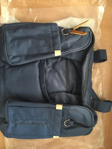 Baby Diaper Bag Tote Shoulder Baby Bag with Stroller Straps photo review
