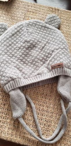 Knitted Baby Hat Cute Earflap Beanie photo review