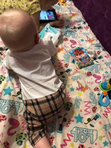 Baby Romper Gentleman Tie Long Sleeve photo review