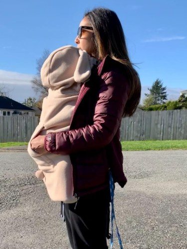 Baby Carrier Stroller Cover Hooded Cute Animated Animal Design photo review