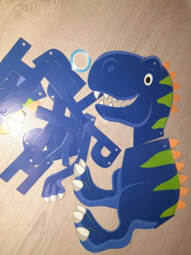 Baby Happy Birthday Dinosaur Party Decor Baby Shower photo review