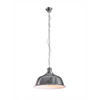 Yonkers  Chrome Pendant Lamp with Chain Cord