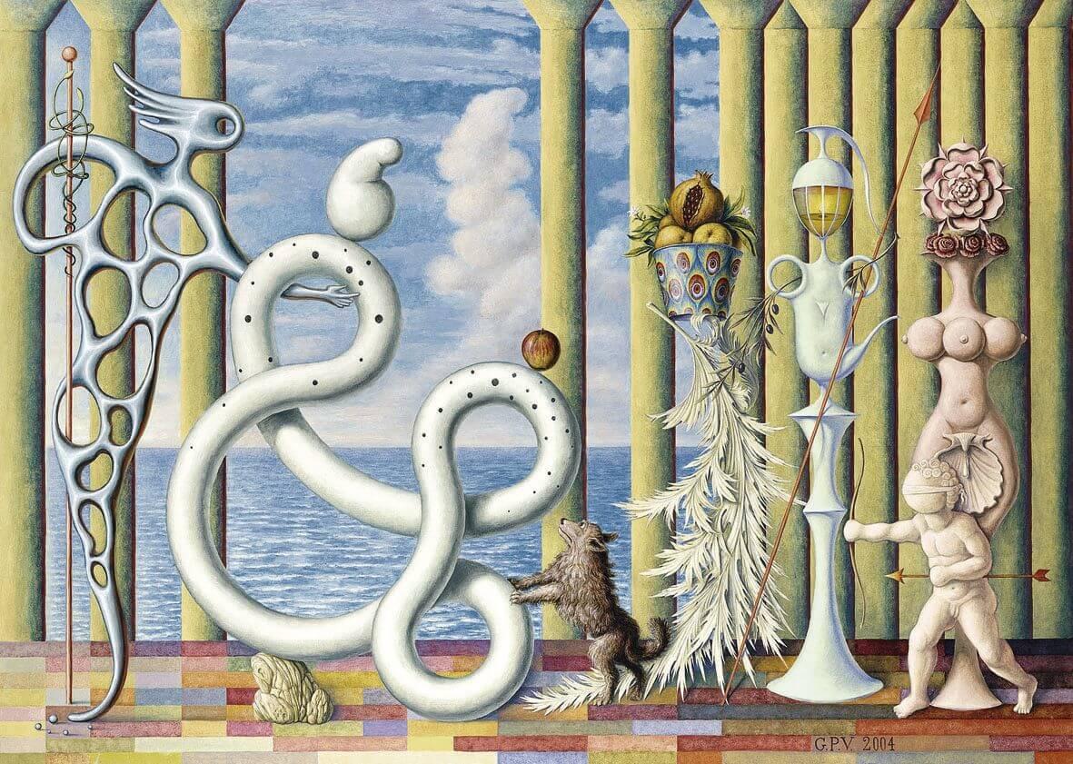 El Juicio de Paris - Guillermo Pérez. Hay quienes piensan que esto es arte por la composición, el estilo y la técnica.