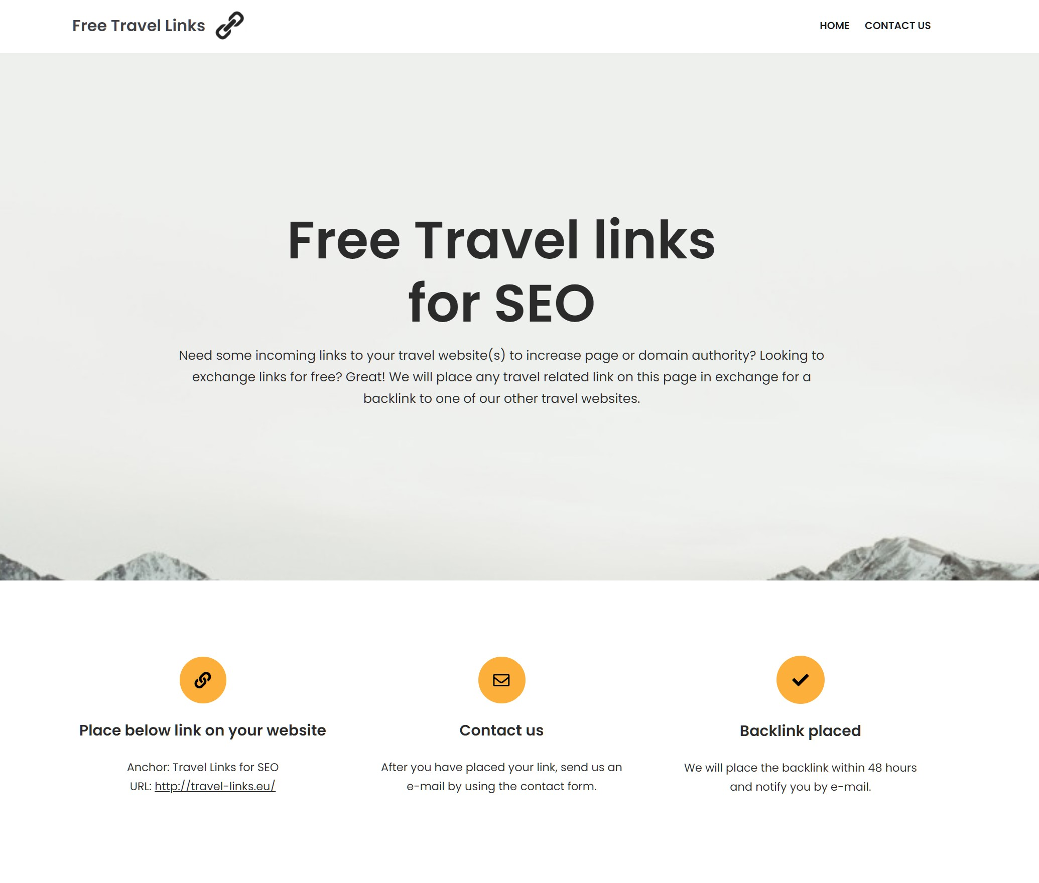 free travel links