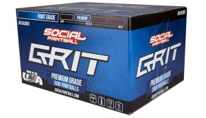Social Paintball Grit Competition Grade Paintballs