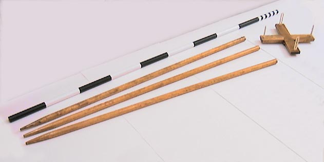 Staves. Offset Staff. and Cross