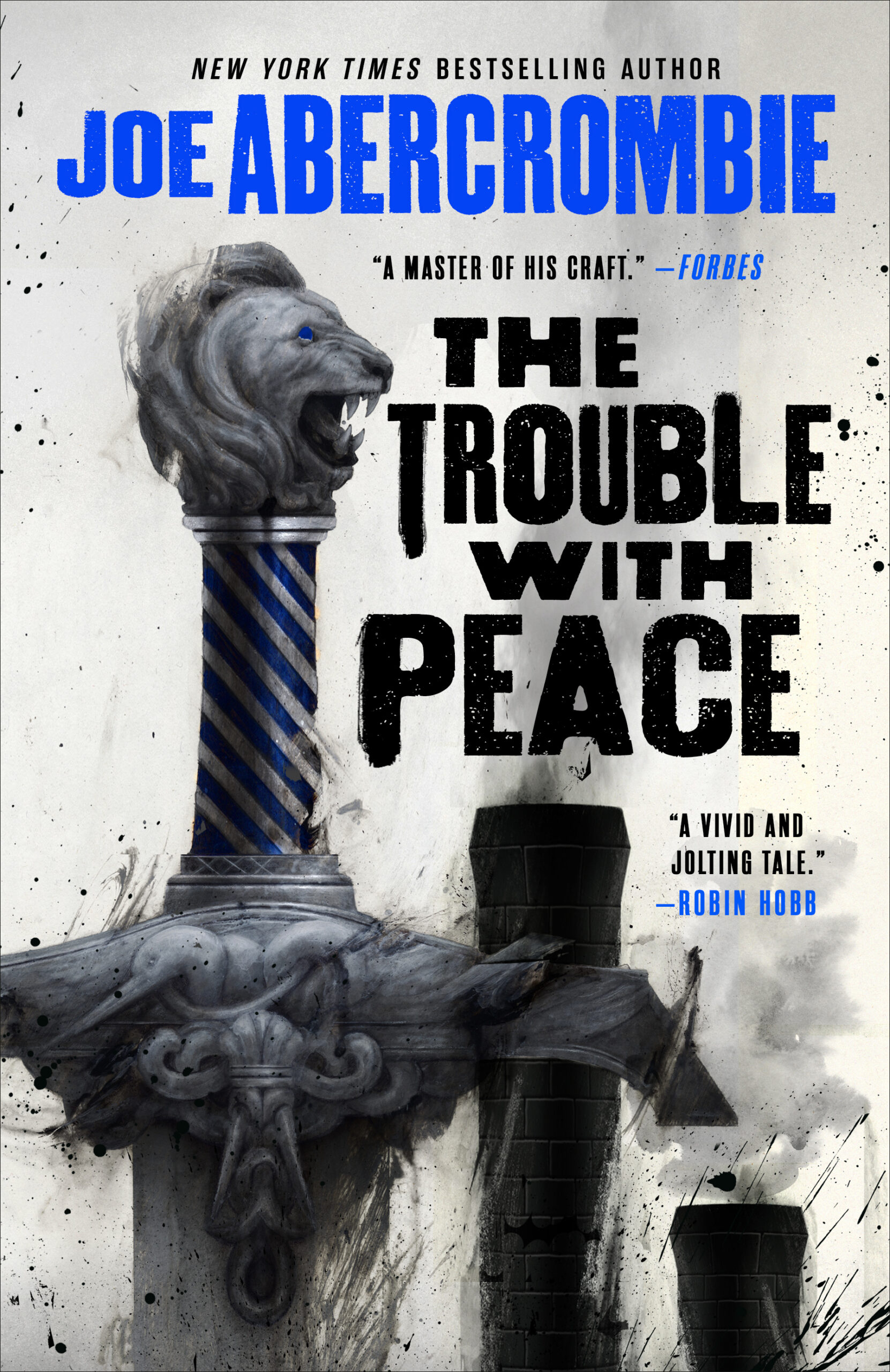 The Trouble With Peace : trouble, peace, Cover, Launch:, TROUBLE, PEACE, Trade, Paperback, Edition, Abercrombie, Orbit, Books