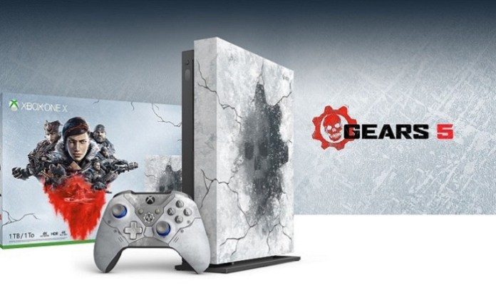Gears 5 , Microsoft , Xbox One , video games , game , Game console , Console , controller