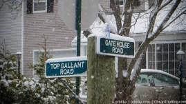Zima w Stamford (CT)