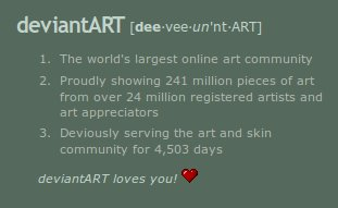 Deviant Art is practically a mountain of art!