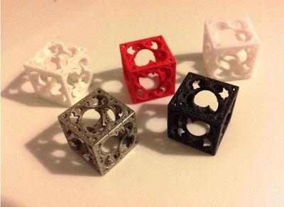 3D printed fractal by Jeremie Brunet