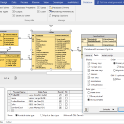 Microsoft Visio Database Model Diagram Honda Civic 2007 Radio Wiring Reverse Engineering For Pro Orbus Blog