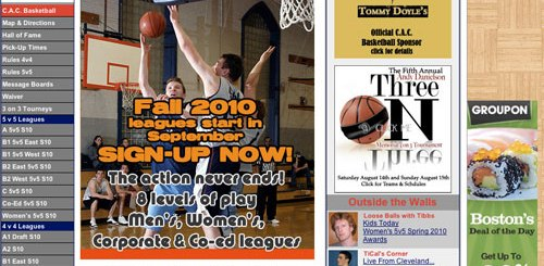 Cambridge Basketball Leagues for Adults in the Boston Area