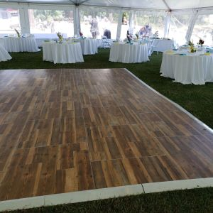 Flooring and Staging