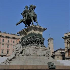 Sforza statue