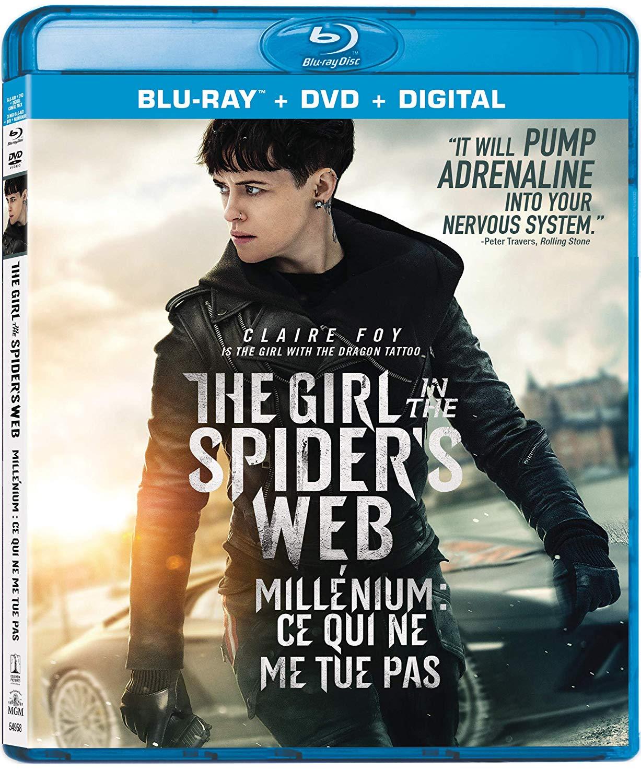 Millenium : Ce Qui Ne Me Tue Pas : millenium, Spider's, Blu-ray/DVD, Combo, Edition