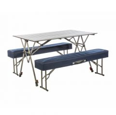 Kamp Rite Kwik Fold Table With Benches Orccgear Com