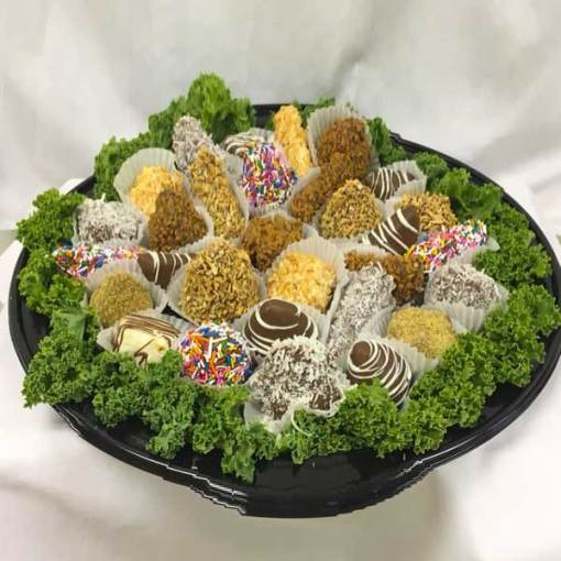 Edible Assorted Dipped Fruit Try - Orchard Berry Arrangements