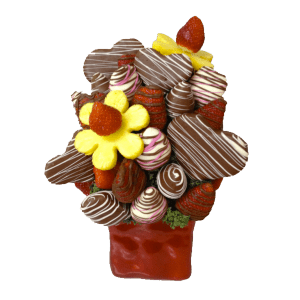 Cupid Edible Bouquet - Orchard Berry Arrangements