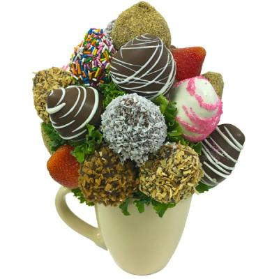 Sweet Heart Berry Mug - Orchard Berry Arrangements